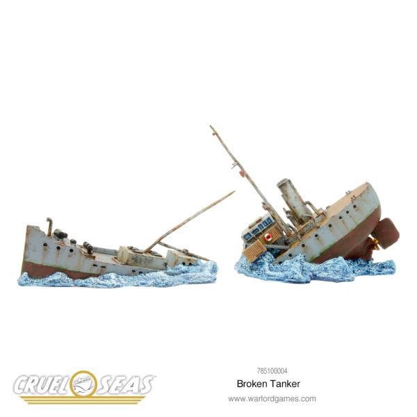 Cruel Seas: Broken Tanker