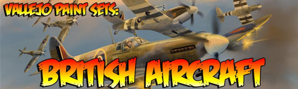 British Aircraft Vallejo Banner