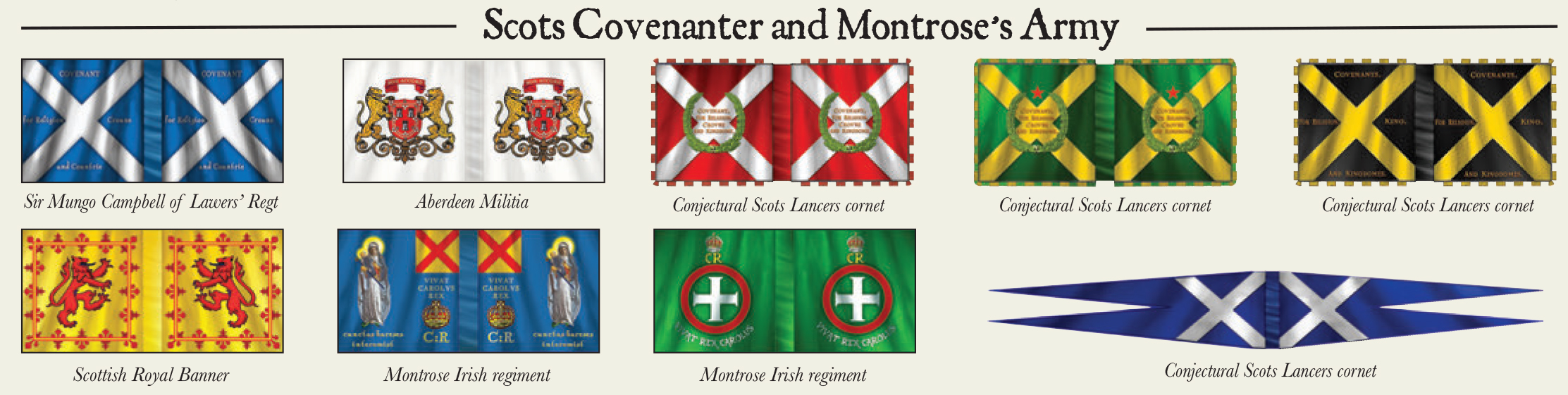 Scots Covenanter and Montrose's Army