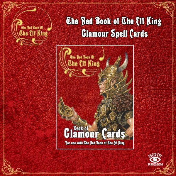 The Red Book of The Elf King - Deck of Glamour Cards