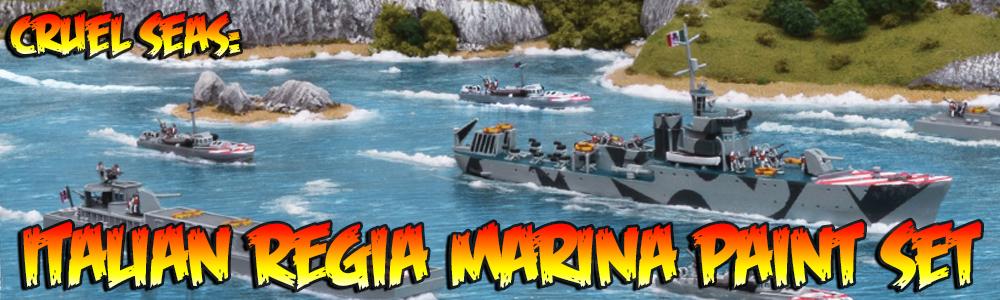 Cruel Seas: Italian Regia Marina Paint Set