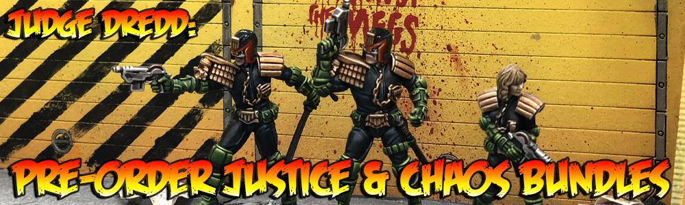 Judges Dredd: Justice & Chaos Bundles
