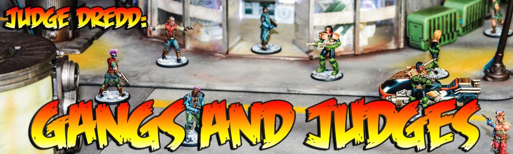 Judge Dredd: Gangs and Judges