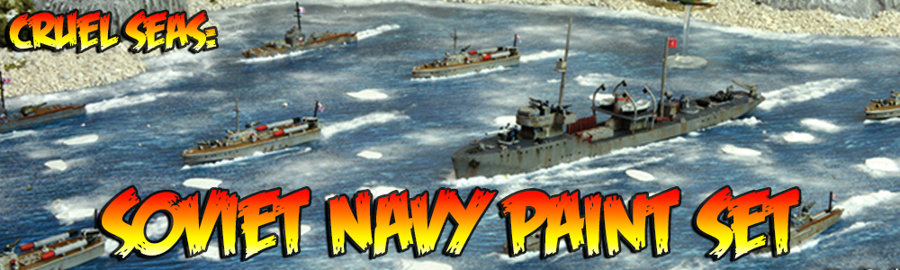 Cruel Seas: Soviet Navy Paint Set