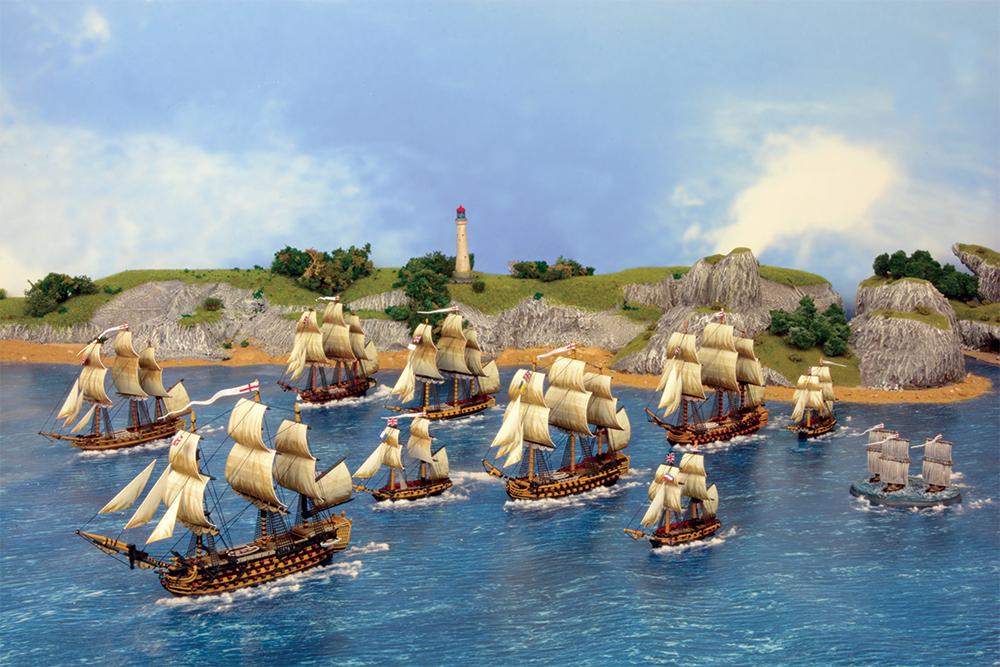 Victory accompanies fleet