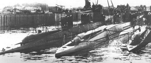 Type VIIa U-Boat