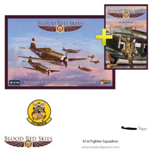 779912012 61st Fighter Squadron, P-47 Thunderbolt Squadron