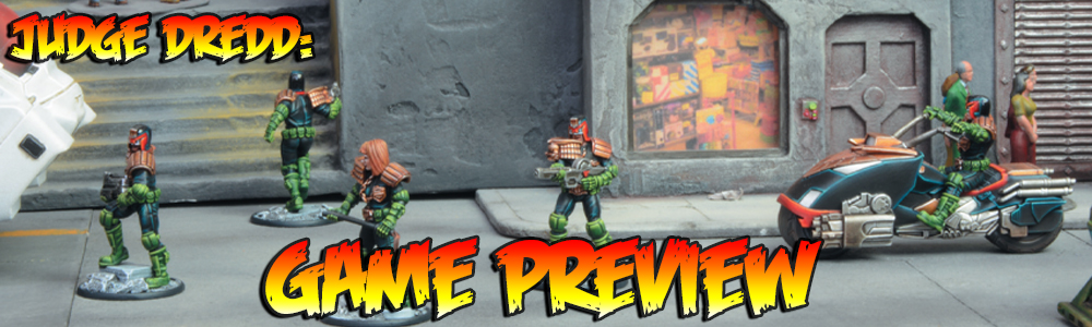 Judge Dredd: Game Preview
