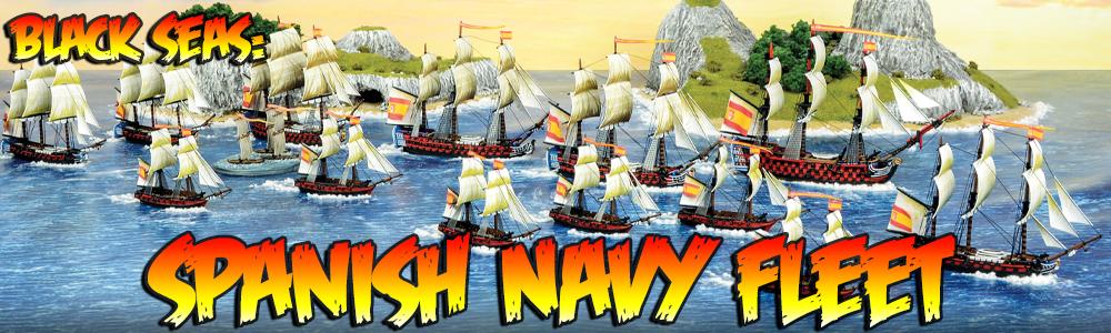 Black Seas: Spanish Navy Fleet
