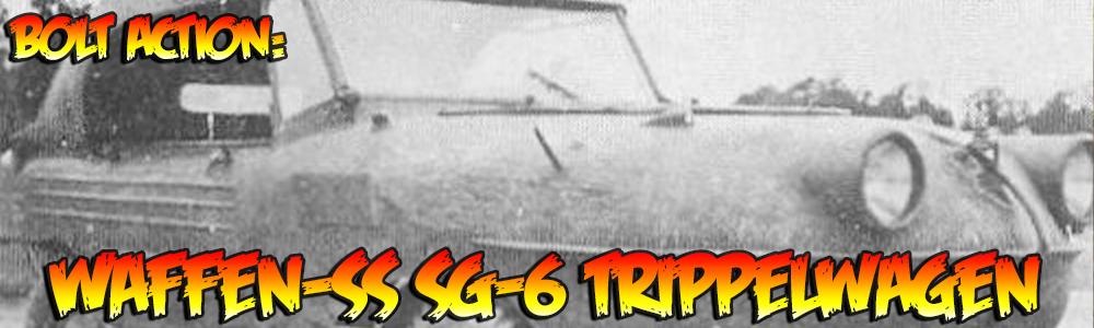 Bolt Action: Waffen-SS SG-6 Trippelwagen