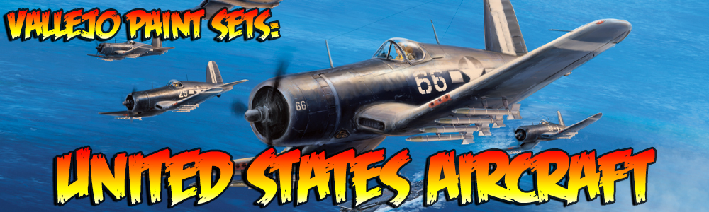 Vallejo Paint Sets: United States Aircraft