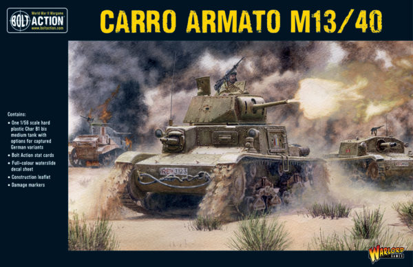 Carro Armato M13-40 from Warlord Games