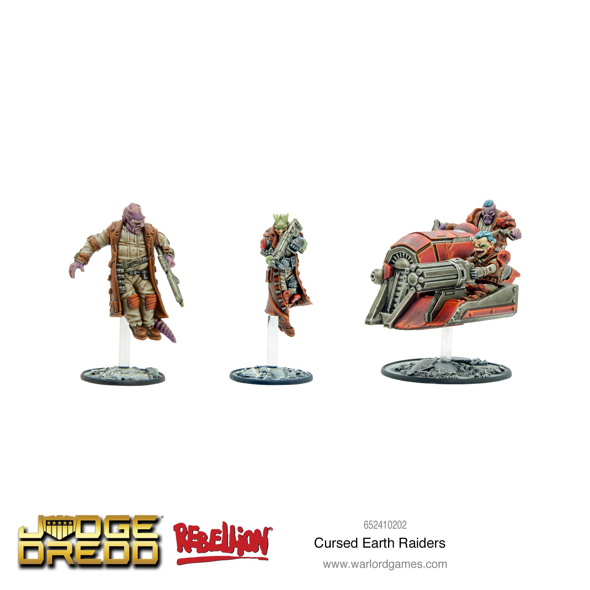 Cursed Earth Raiders
