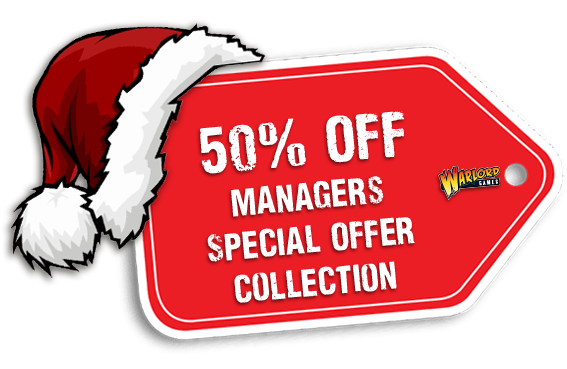 Warlord Games Bad Santa Managers Special Offers Collection