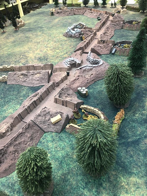 Brecourt Manor Scenario Layout