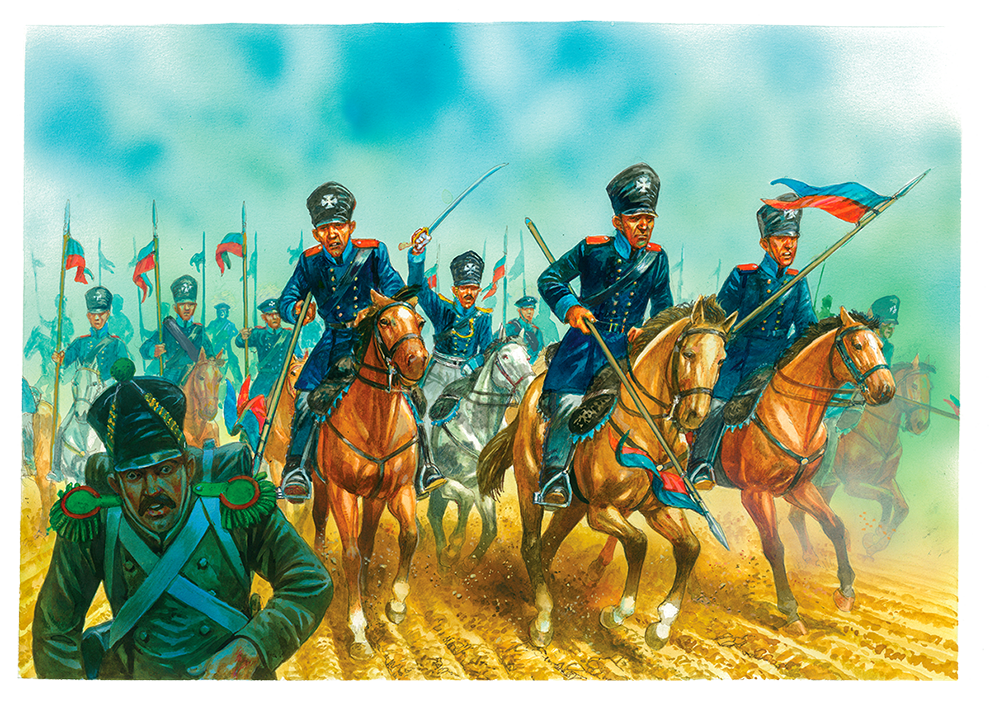 Day 6 - Prussian Landwehr Cavalry