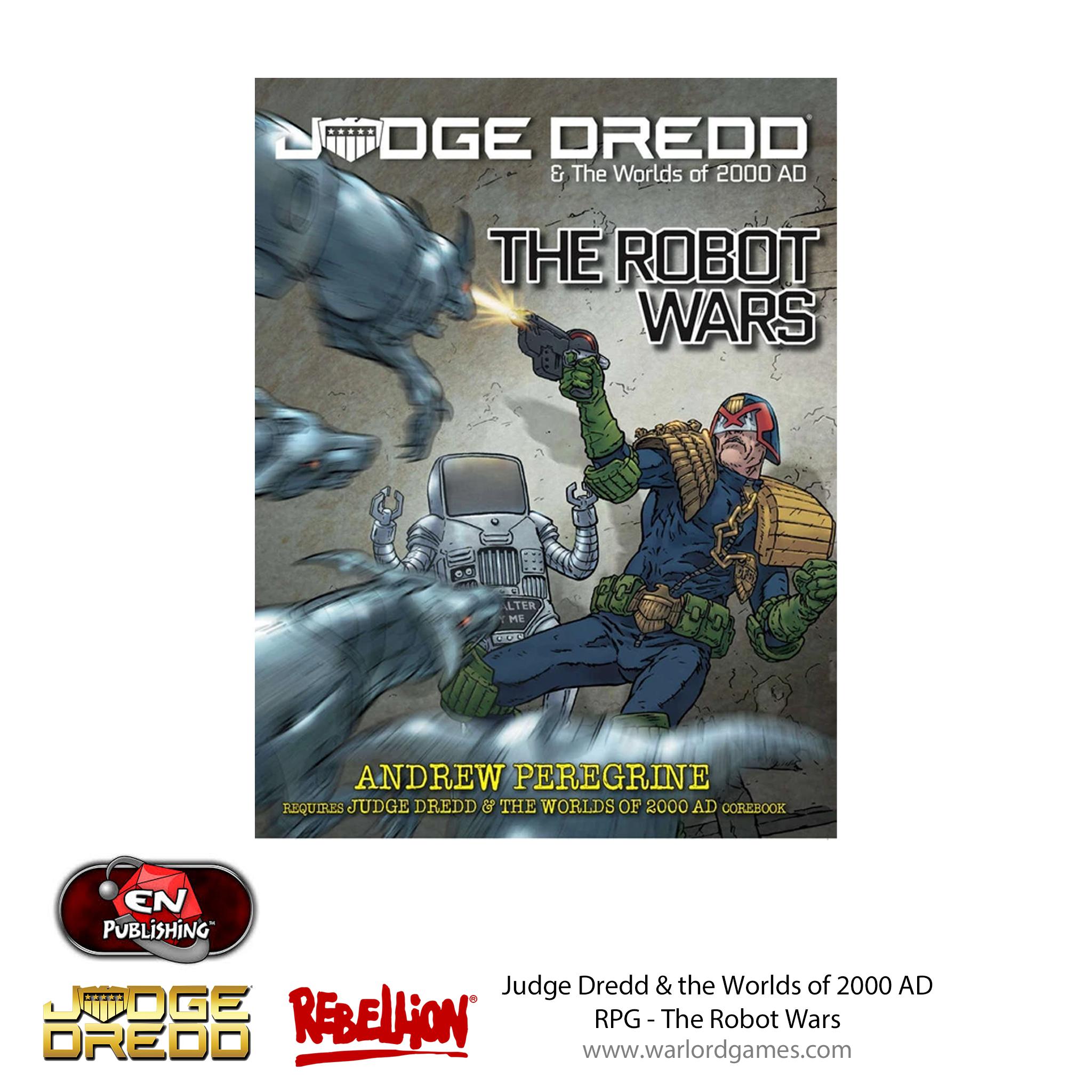 Judge Dredd RPG - Robot Wars