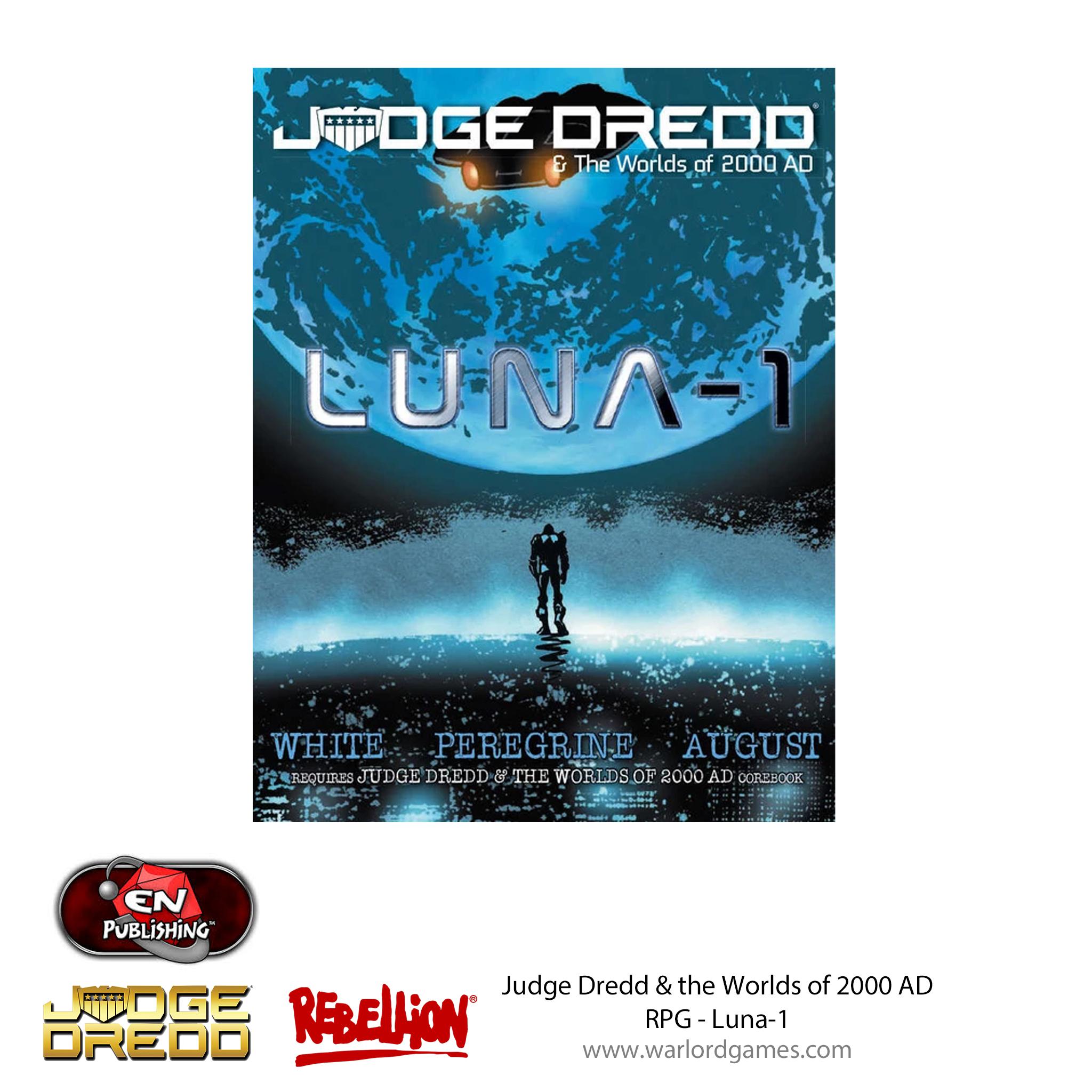Judge Dredd RPG - Luna-1