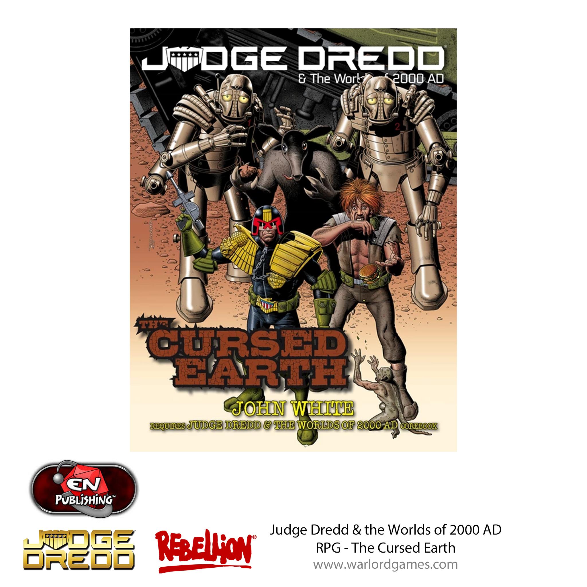 Judge Dredd RPG - Cursed Earth
