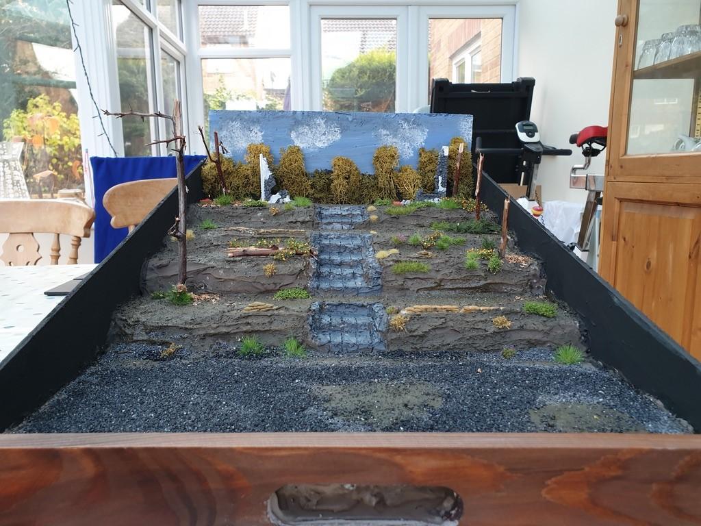 Finished Diorama