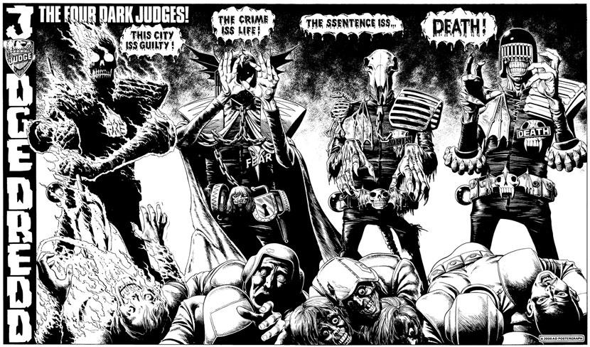 Judge Death The Dark Judges