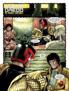 Judge Dredd Johnny Alpha By Private Contact