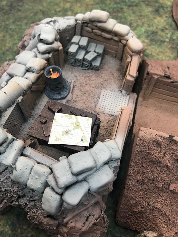 Map In Bunker