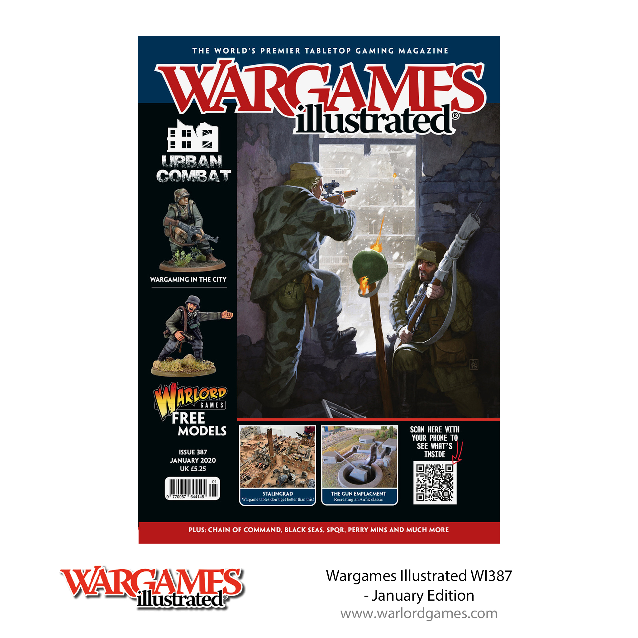 WI387 Wargames Illustrated WI387 January Edition