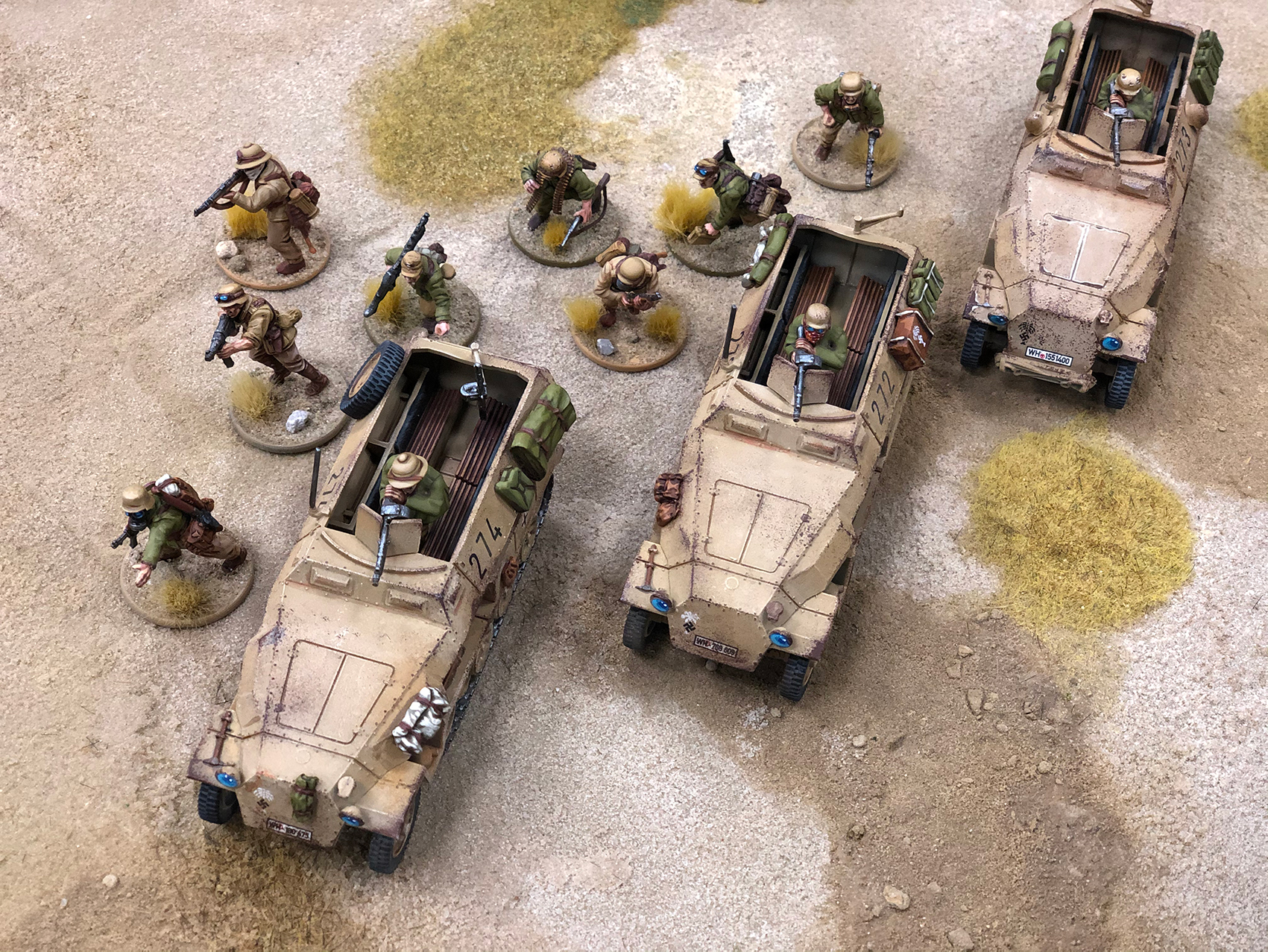Mobility is key to this DAK army