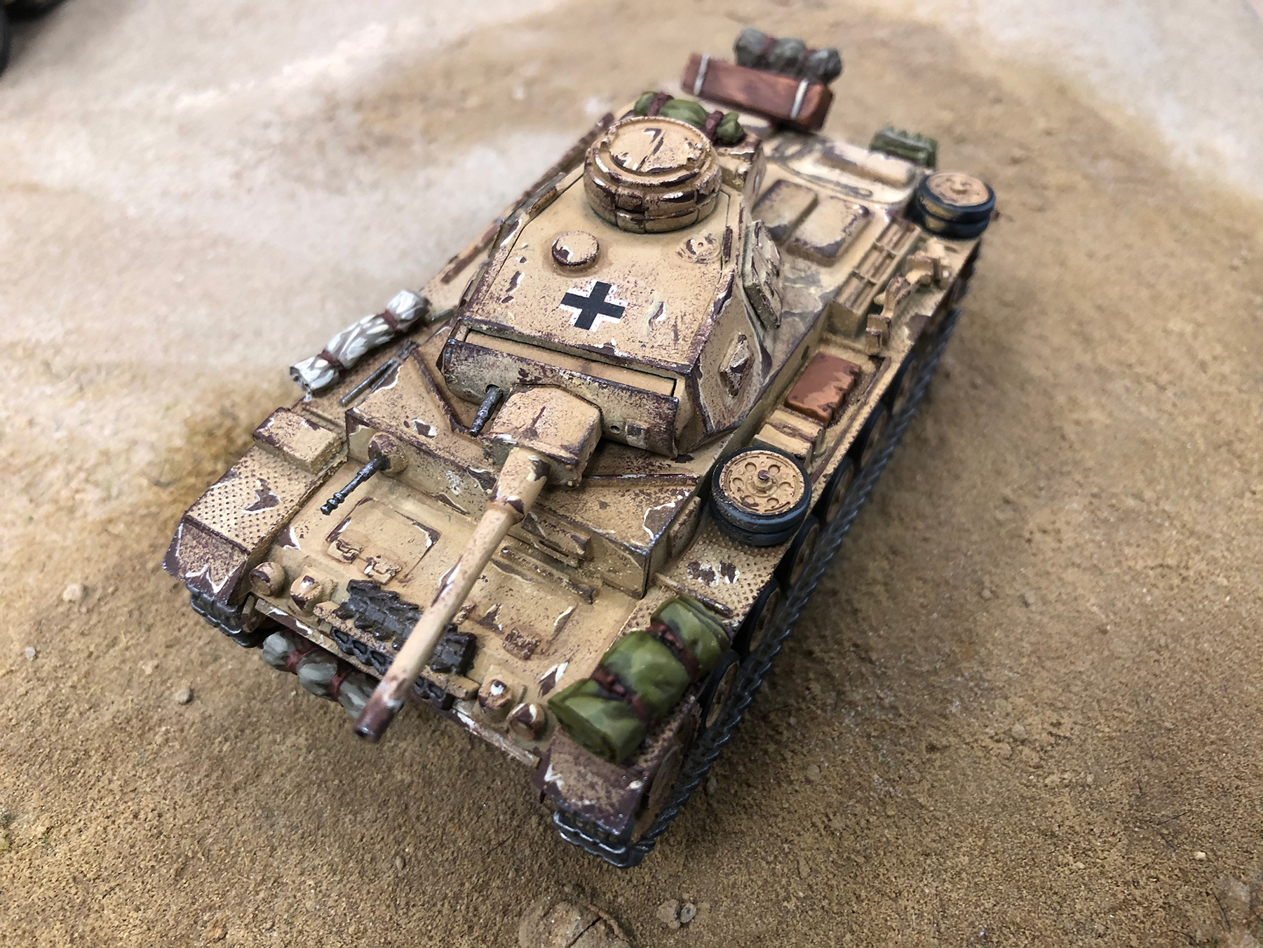 Max's current Panzer - More to come!