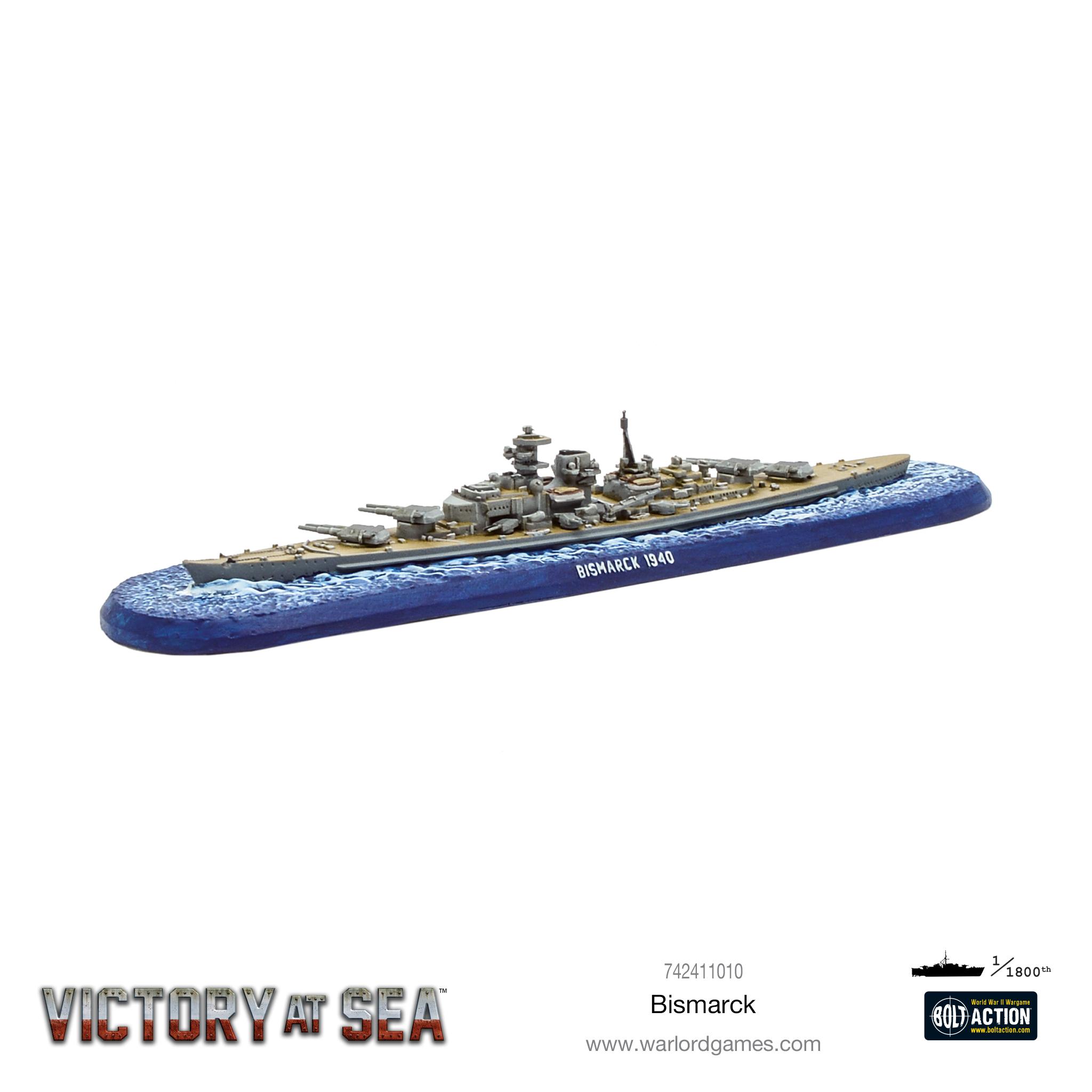 Warlord Games Victory At Sea Kriegsmarine fleet Set IN STOCK!!!!!!!