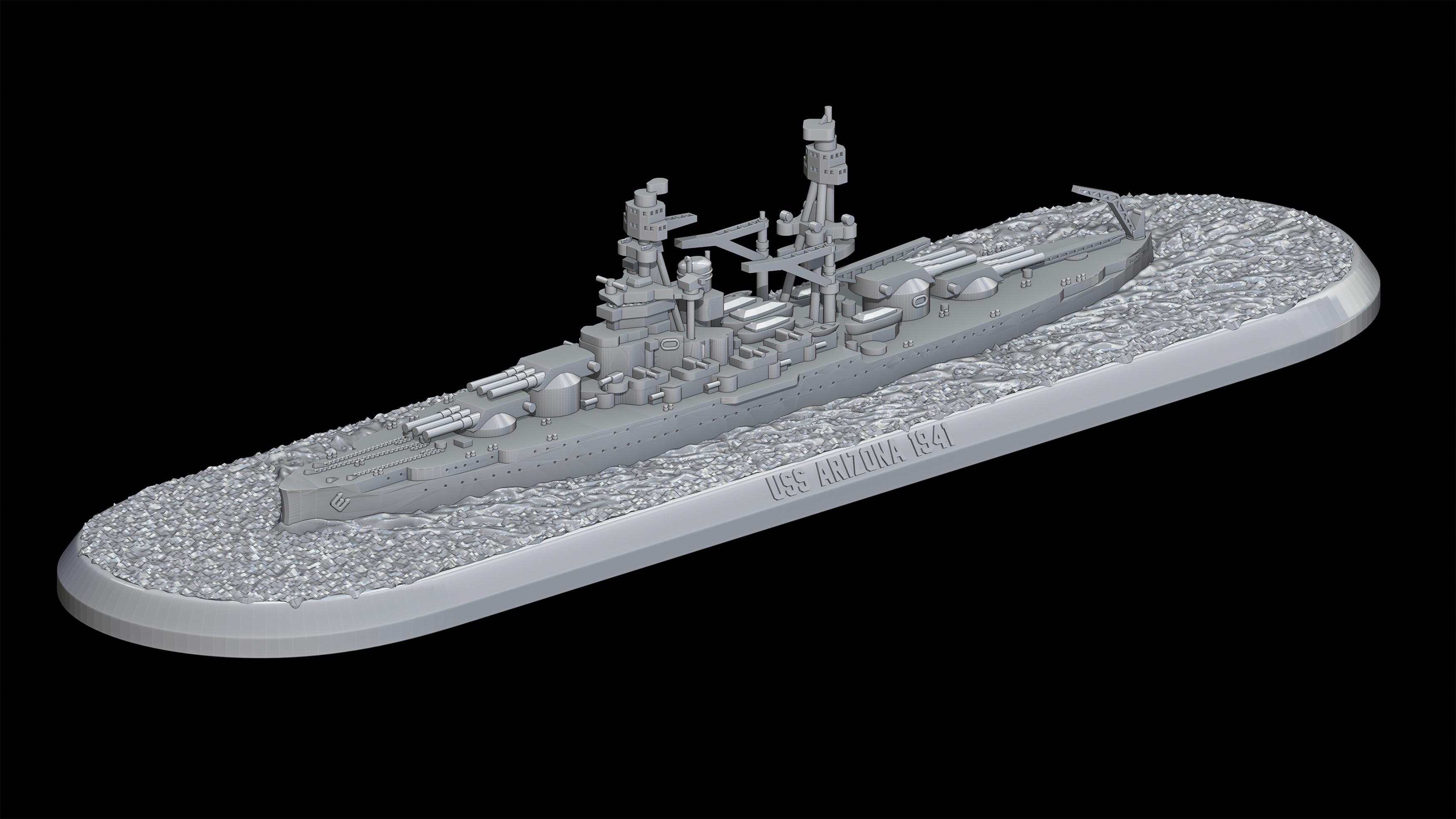 Victory at Sea USS Arizona
