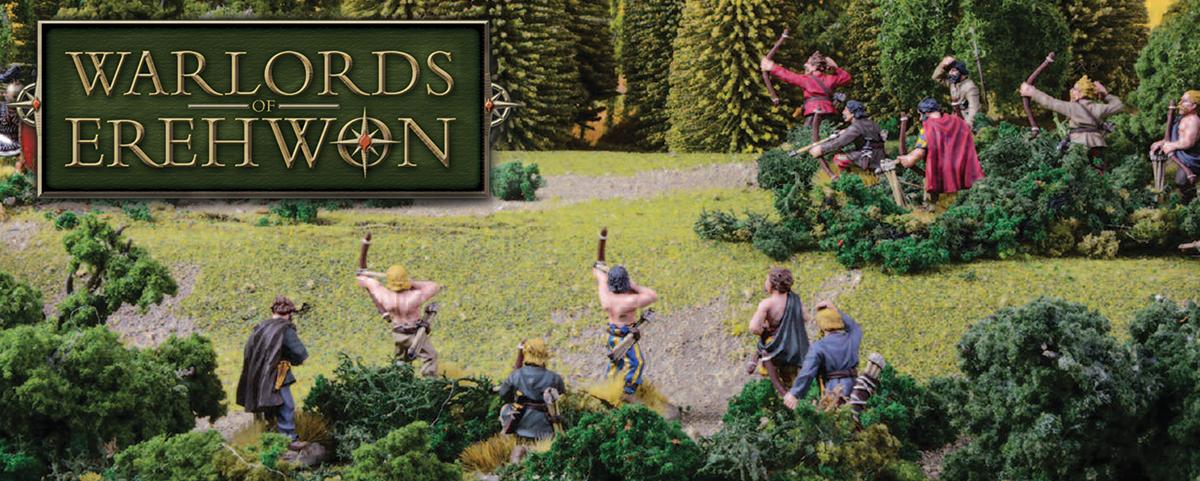 Warlords of Erehwon: Celts & Celt Warbands