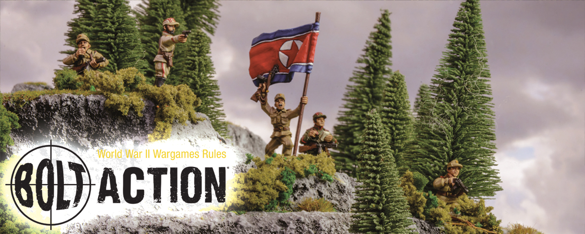 New Experimental Rules: Bolt Action Korea
