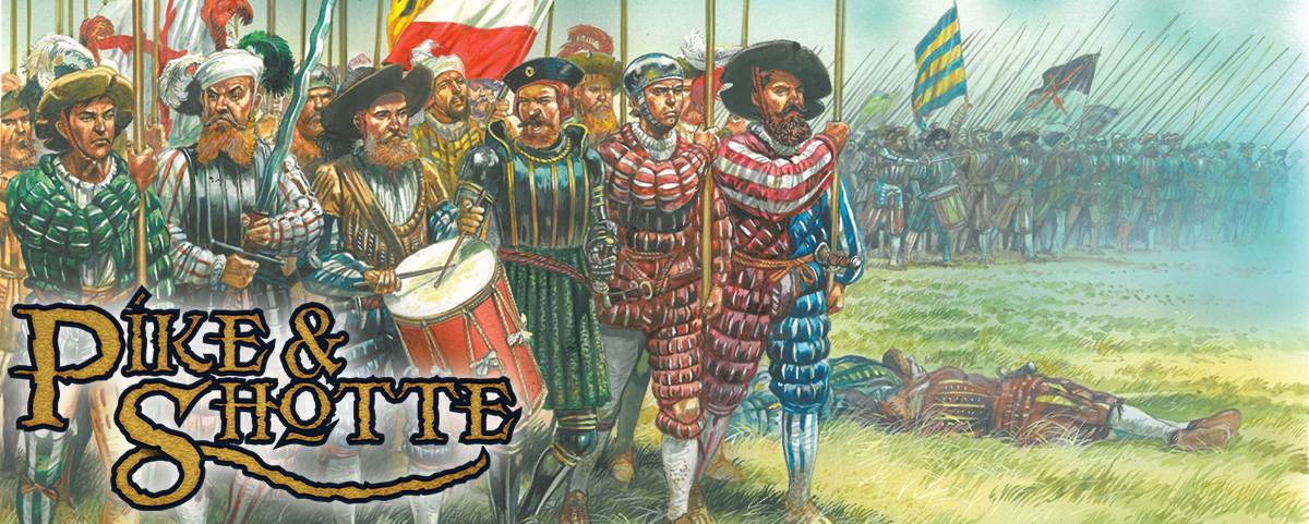 Pike & Shotte Warfare: Who were the Landsknechts?