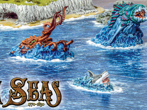 Here there be Monsters: Terrors of the Deep