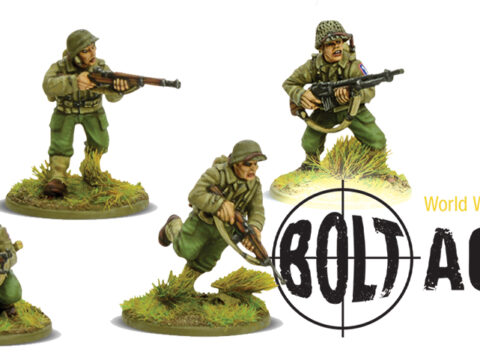 The US Army's 100th Battalion in Bolt Action