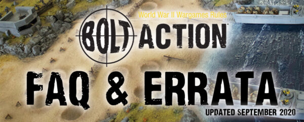 New: Bolt Action FAQ September 2020