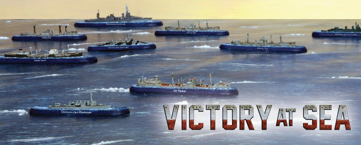 Merchant Convoys in Victory at Sea