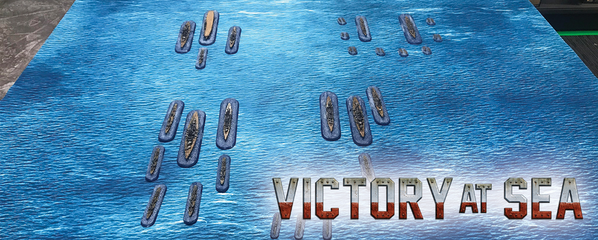 Conor's Hobby Corner Phase One – Victory at Sea