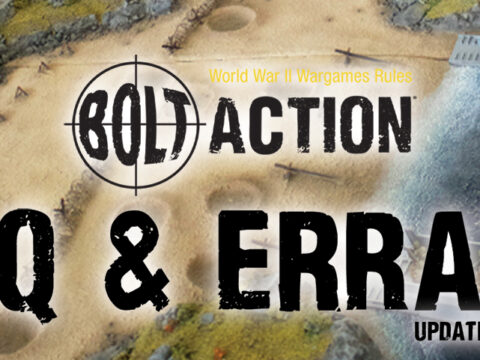 Bolt Action FAQ: January 2021 Update